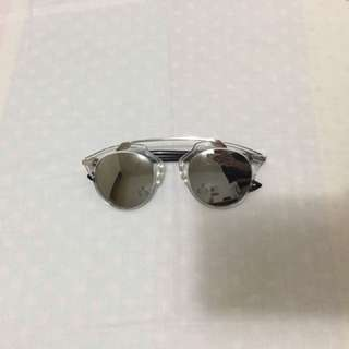 Silver dior inspired sunnies