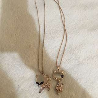 Cat Long Necklace