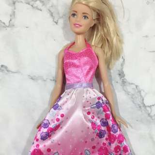 Mattel barbie with evening gown