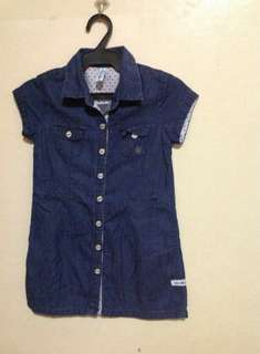 Authentic Moose Girl Button Up Dress #1