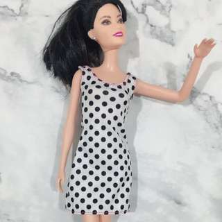 Mattel Classic barbie with polka dress
