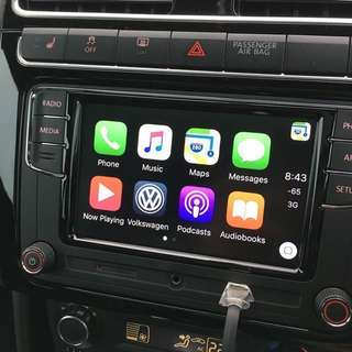 "Volkswagen RCD330 + 6.5"" with Apple CarPlay 187B"