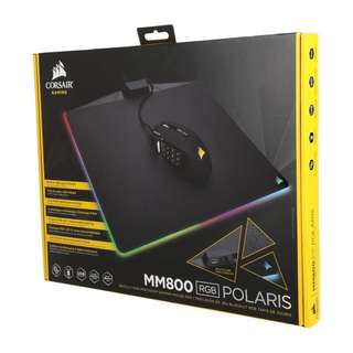 Corsair MM800 RGB POLARIS Gaming Mouse Pad - Cloth (350mm × 260mm × 5mm, CH-9440020-NA)