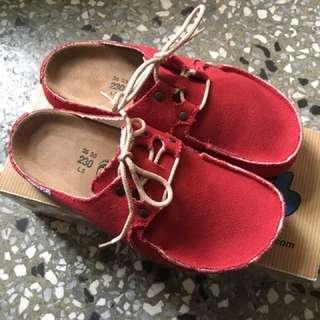 🚚 勃肯鞋全新百貨公司正品Butkus 獨家過年喜氣紅色23號 197403 super skipper