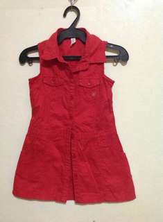 Authentic Moose Girl Button Up Dress #2