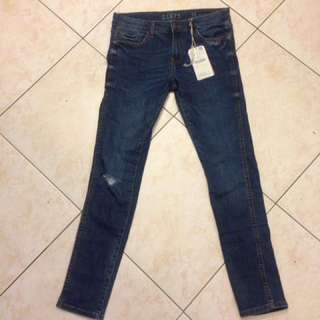 Zara denim pants