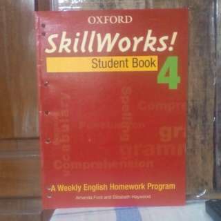 Buku Skill Works ( student book 4 ) A weekly English homework program