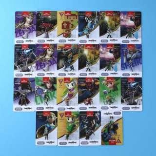 Zelda 22 piece nfc cards