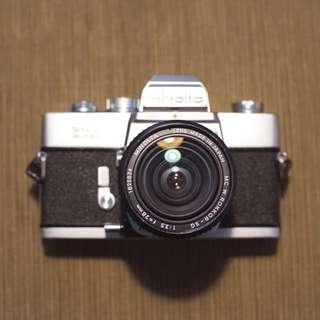 Minolta SRT Super 28mm Lens Camera Film SLR