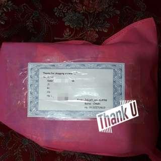 Yeayyy shipping again, thankies darling😍