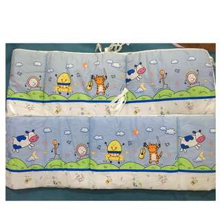 [Reduced Price] Baby Cot Bumper - Bumble Bee