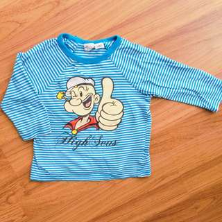 H&M  Popeye Long Sleeve