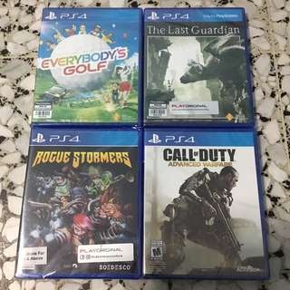 PS4 Games $30 Each