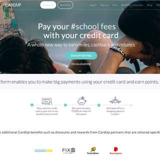 S$20 OFF for your 1st payment on CardUp.co (Promo/Discount Code: PANL31)