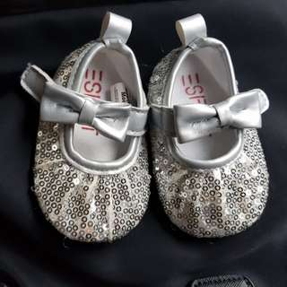 Esprit sequins doll shoes