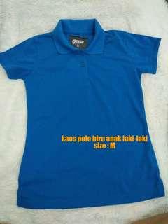 Baju Kaos Polo Anak Laki-Laki