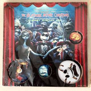 3D Limited Edition The nightmare before Christmas Movie Pin ( 怪誕城之夜 / Jack / Tim Burton )