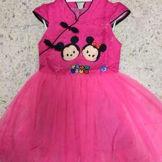 Tsum Tsum Girls Dress