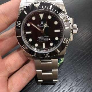 Rolex 114060 盲眼仔