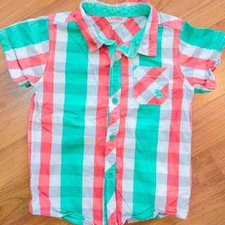 Poney Boy Shirt 3-4y