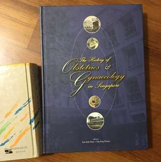 Huge book - history of obstetrics and gynaecology in Singapore