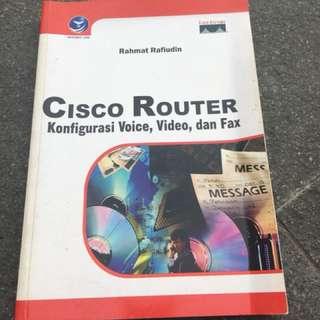 Cisco Router Konfigurasi Voice,Video