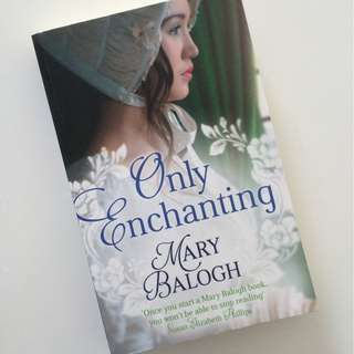 Only Enchanting by Mary Balogh Romance Pocketbook