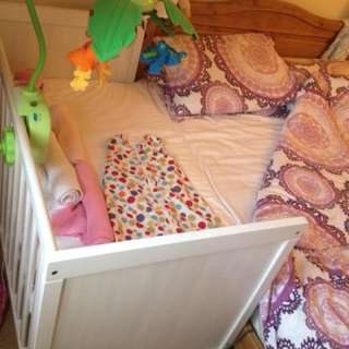 Baby bed side cot