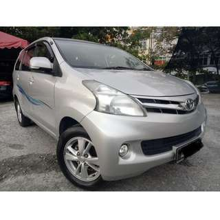 Toyota Avanza 1.5G (A) (Confirmed 2014)