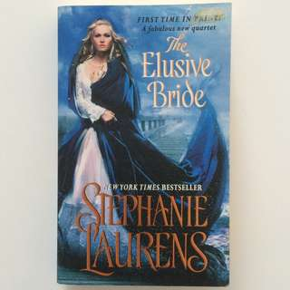 Stephanie Laurens The Elusive Bride English Romance Pocketbook