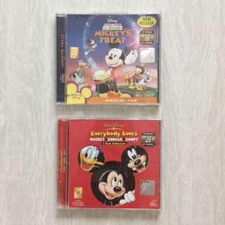 VCD Mickey Donald Goofy