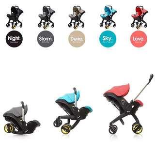 Doona Infant Car Seat Stroller - Brand New