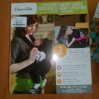 Fleurville 3-Position Baby Carrier