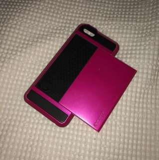 iPhone 6 case card holder