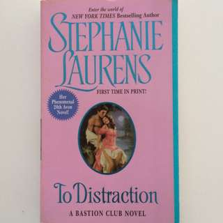 Stephanie Laurens To Distraction English Romance Pocketbook