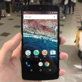 LG Nexus 5 32GB  一年店舖保養