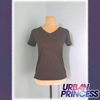 Charcoal Black Basic Tshirt