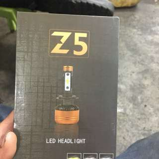 Z5 LED Headlamp( TriColor)