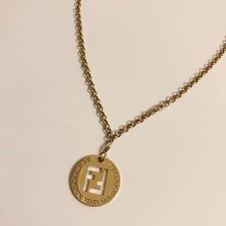 FENDI Identification Necklace
