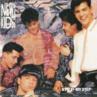 New Kids On The Block Step By Step cd