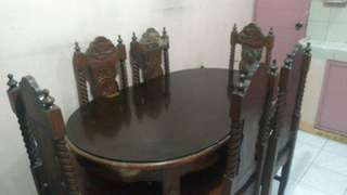 NARRA 6 SEATER DINING TABLE