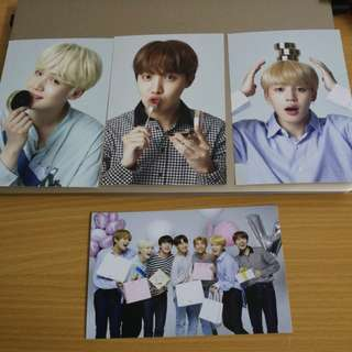 (Ready Stock) BTS VT New Year Postcard