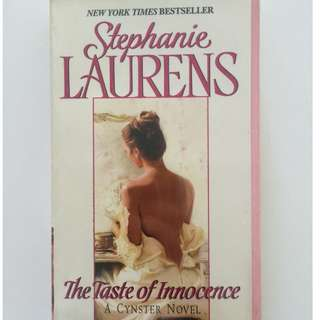 Stephanie Laurens Taste of Innocence English Romance Pocketbook