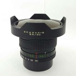Kiev 30mm F3.5 Fisheye lens