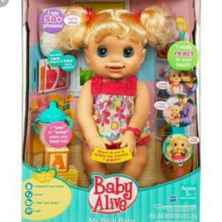Baby alive real baby