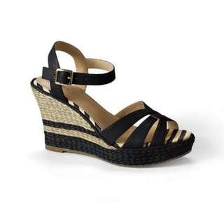 Landsend Women Simona Wedge Sandals US size 8.5