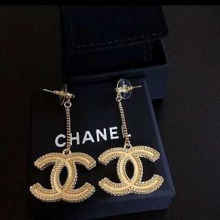 Chanel Classic Drop Earrings