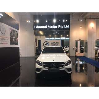 Mercedes Benz GLC250D COUPE 4MATIC AMG-LINE