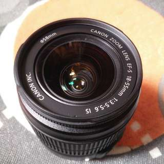 Canon EF-S 18-55mm IS Kit Lens