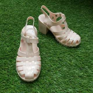 Mini melissa look like jelly shoes kids sepatu anak
